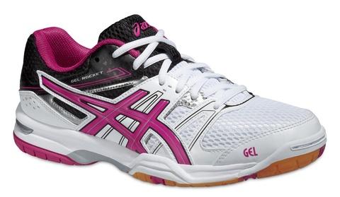 Asics Gel-Rocket 7 Женские кроссовки для волейбола белые