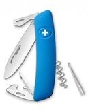 Нож перочинный SWIZA D03 75 мм 11 функций с фиксатором лезвия (D03BLUE)