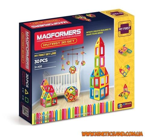 Magformers 30 элементов. Мой первый набор Магформерс