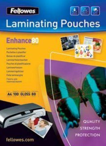 Пленка Fellowes 53022 для горячего ламинирования с клеящим слоем, формат А4 - 80 мкм