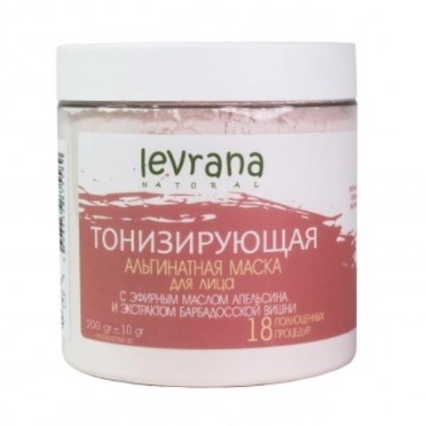 Levrana, Альгинатная маска для лица Тонизирующая, 500гр