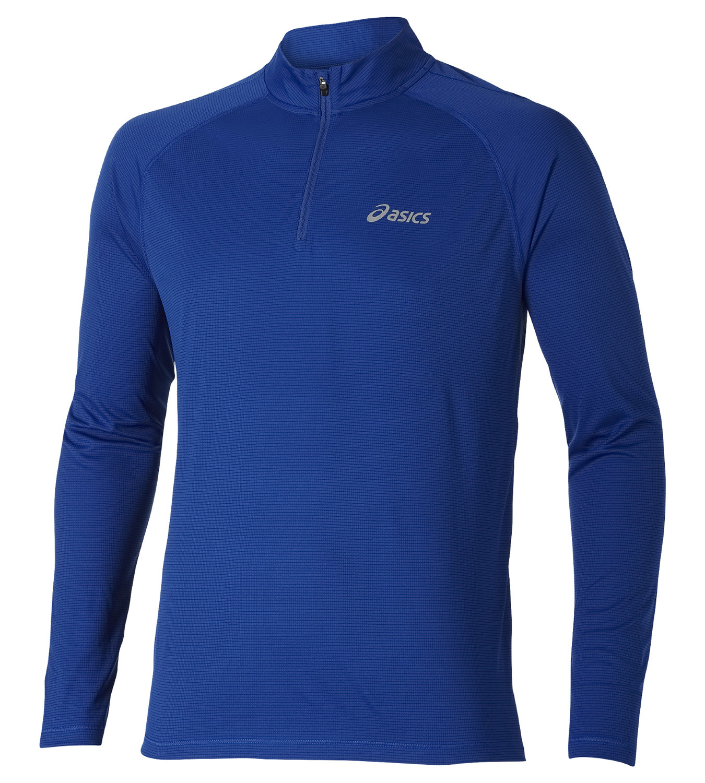 Мужская рубашка для бега  Asics Ls 1/2 Zip Top (110410 8107)