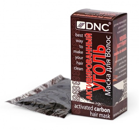 DNC Маска для волос Активированный уголь  100г