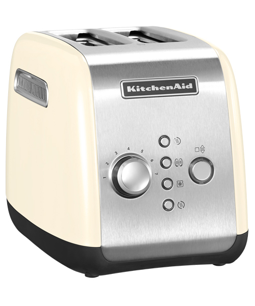 KitchenAid Тостер на 2 хлебца, кремовый, арт.5KMT221AC