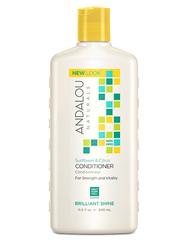 """Кондиционер для блеска волос """"Подсолнечник и цитрус"""", Andalou Naturals"""