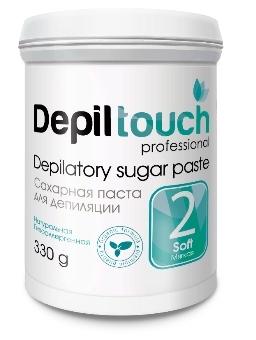Сахарная паста для депиляции №2 мягкая 330 г. (Depiltouch)
