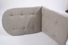 Подушка для кресла серая универсальная (034.006)