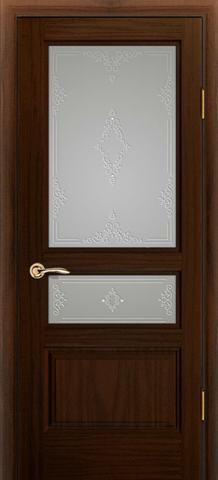 Дверь Океан Neo Classica Марсель , стекло белое, цвет ясень винтаж, остекленная