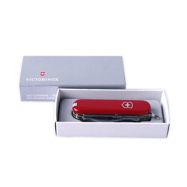 Нож-брелок Victorinox Classic MiniChamp, 58 мм, 16 функ, красный  (0.6385)