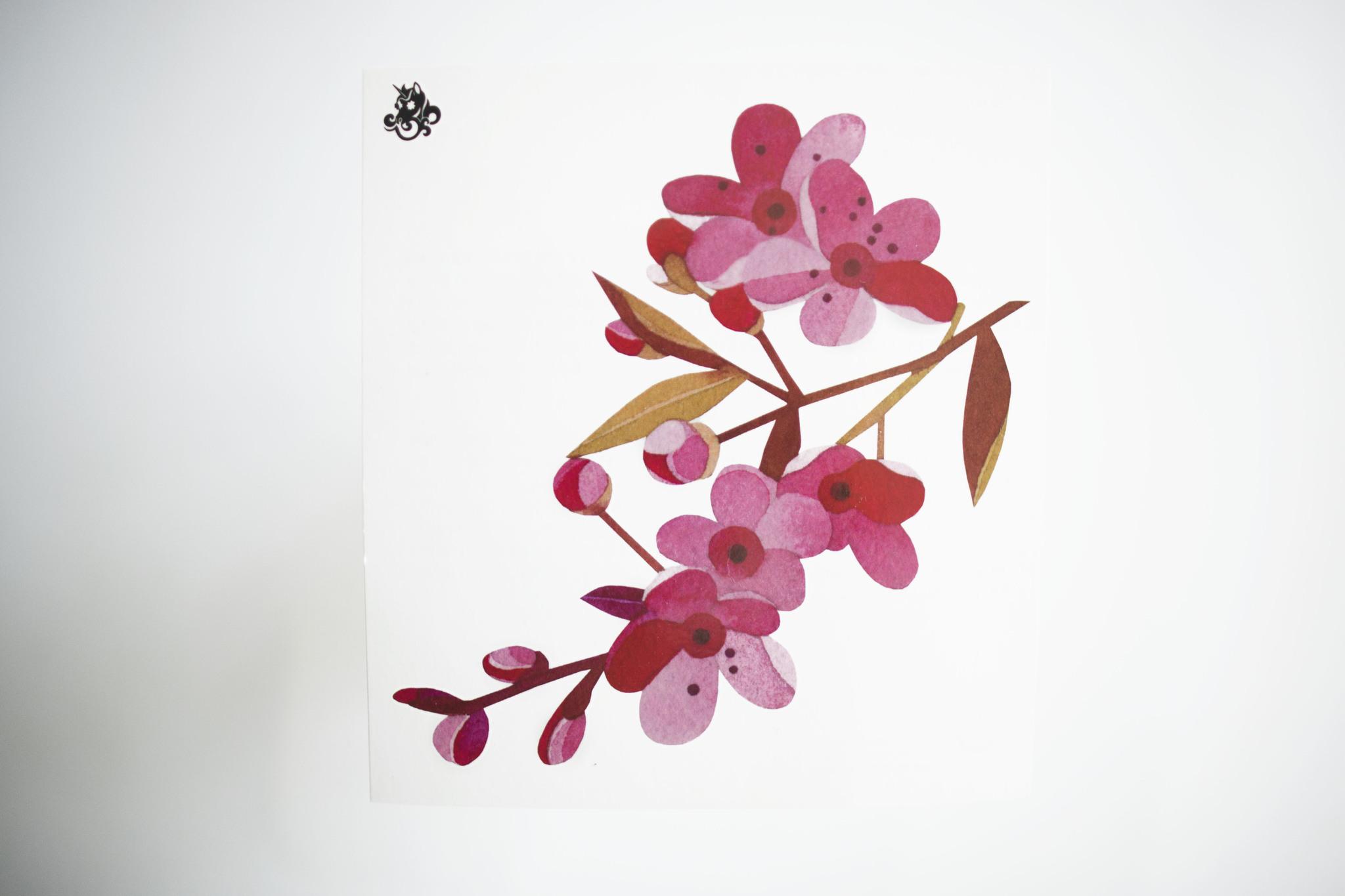 Переводная татуировка Sakura