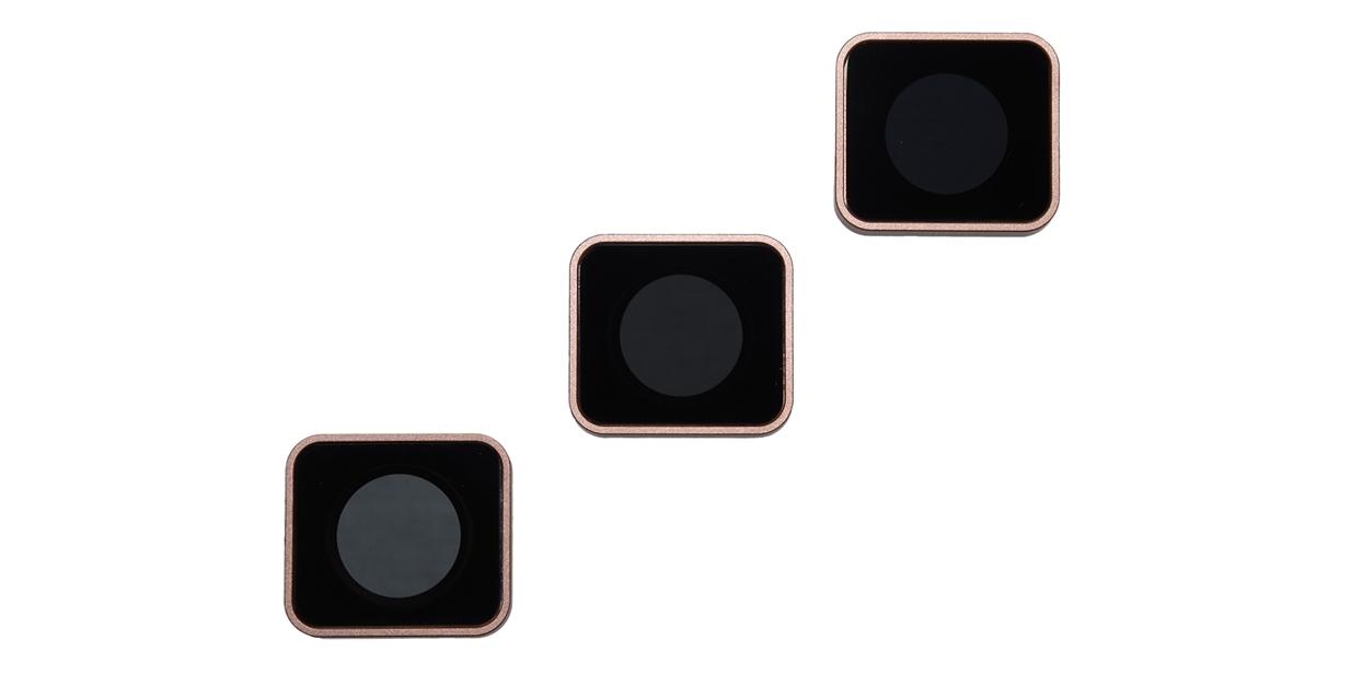 Набор фильтров PolarPro Cinema Series Filter 3-Pack вид сверху