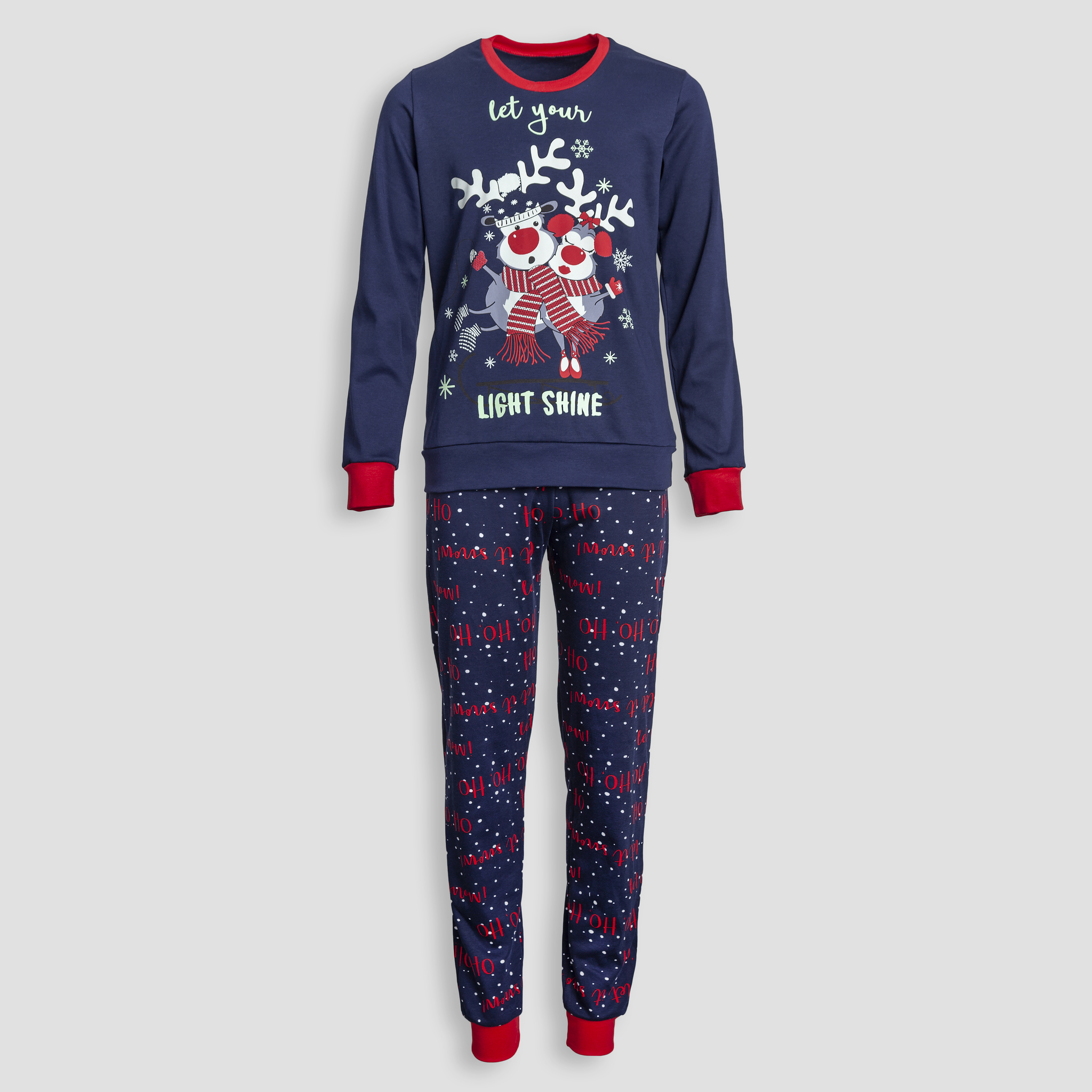 Детская женская пижама E18K-114P101