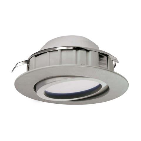 Светильник светодиодный встраиваемый регулируемый и диммируемый Eglo PINEDA 95856