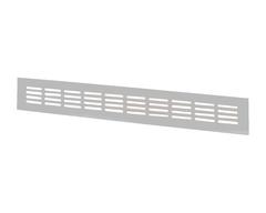 Решетка МВМА 600х100 мм серая Серебро