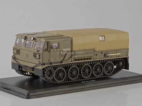 ATS-59G Artillery crawler tractor khaki Start Scale Models (SSM) 1:43