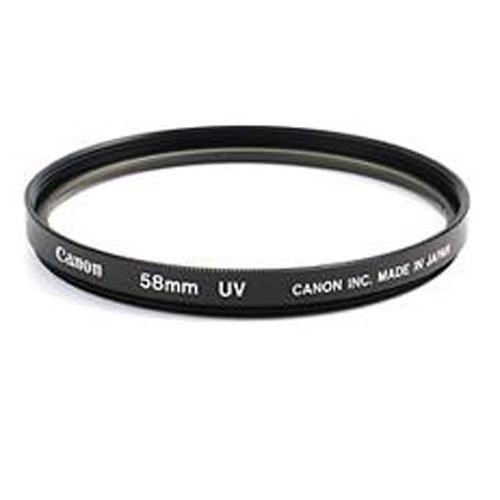 Ультрафиолетовый фильтр Canon Original UV Slim 58mm (светофильтр для фотоаппарата с диаметром объектива 58мм)