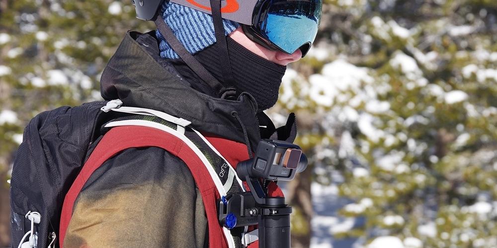 Набор фильтров PolarPro Cinema Series Filter 3-Pack использование на лямке рюкзака