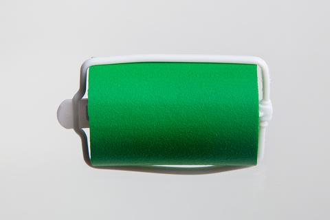 Бигуди эластичные Ставвер зеленые 38мм*70мм 12шт/уп