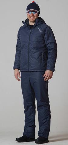 Утеплённый прогулочный лыжный костюм Motion Dark Navy
