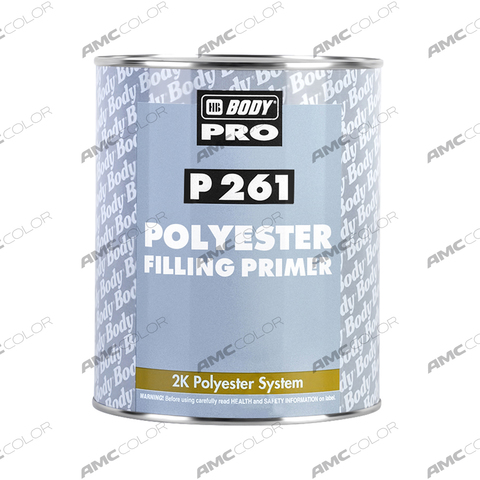 Грунт Body P261 (серый) (1л)+(отв 0,05л)