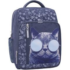 Рюкзак школьный Bagland Школьник 8 л. 321 серый 611 (0012870)