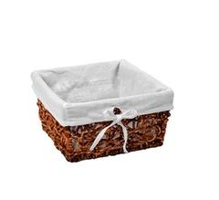 Плетеная корзина для ванной WasserKRAFT Exter WB-160-M