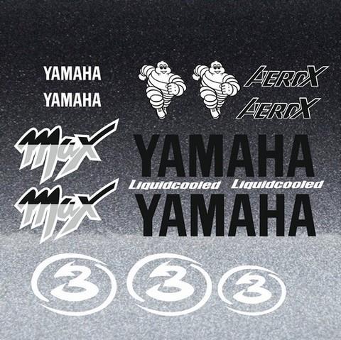 Набор виниловых наклеек на мотоцикл YAMAHA AEROX MAX