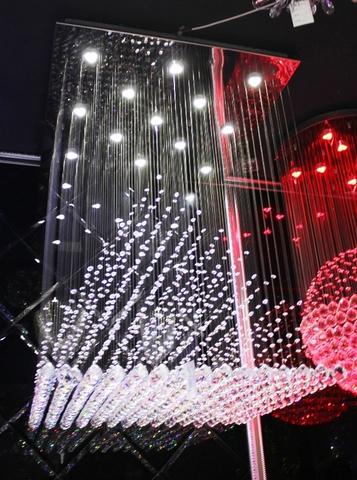 cristal  cascade chandelier  11-10  by Cristallino