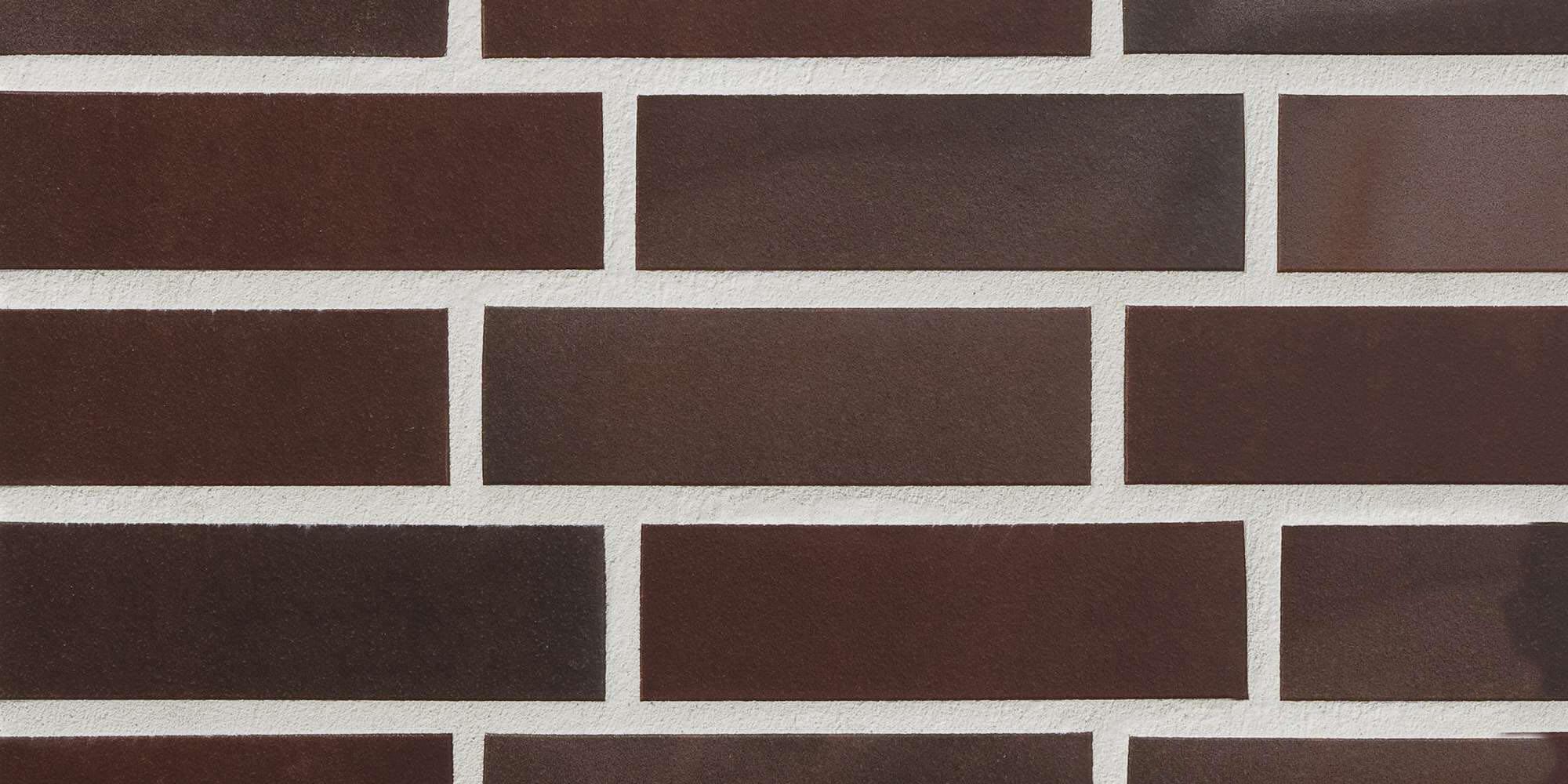 Stroeher, плитка-клинкер под кирпич, цвет 825 sherry, серия Keravette shine, glasiert, глазурованная, гладкая, 240x52x8