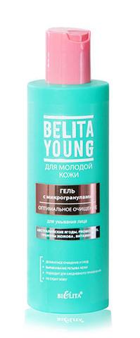 Белита Young Гель с микрогранулами для умывания лица Оптимальное очищение 200мл