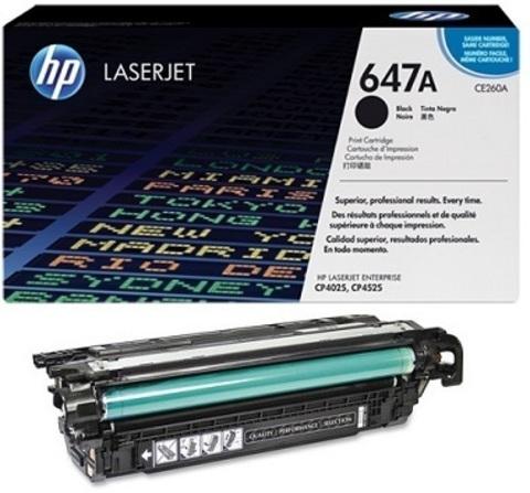 Картридж Hewlett-Packard (HP) CE260A №647A