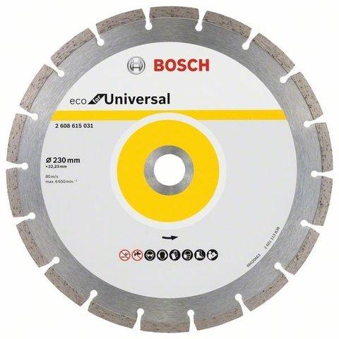 Алмазный отрезной круг ECO for Universal Turbo 230 мм