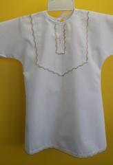 Рубашка крестильная Нежность