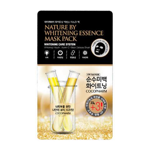 Natureby Тканевая маска для осветления и увлажнения кожи 26г