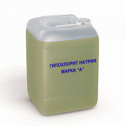Гипохлорит натрия марка «А» NaCIO