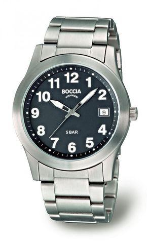 Купить Мужские наручные часы Boccia Titanium 3550-04 по доступной цене