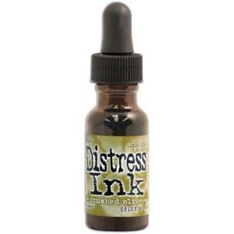 Чернила для заправки  Distress Ink Ranger - crushed olive