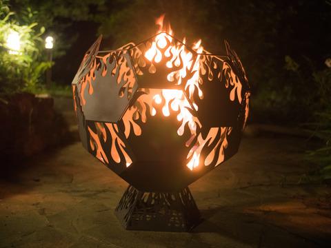 Чаша для костра Lordsen  Kvadro (Языки пламени)