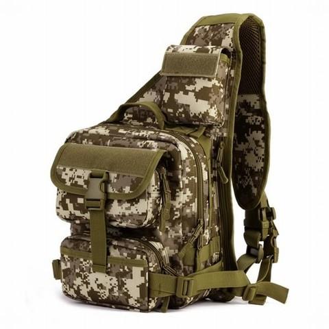 Однолямочный рюкзак подсумок Mr. Martin 5036 Desert