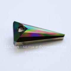 6480 Подвеска Сваровски Spike Crystal Rainbow Dark (18 мм)
