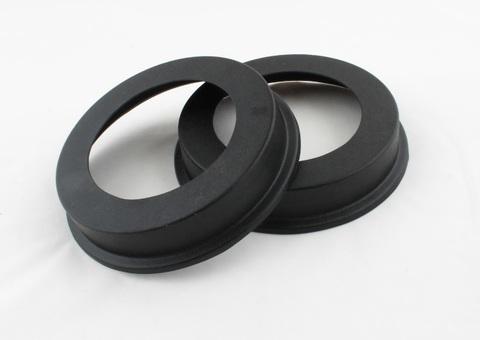 Накладки на тормозные барабаны Vesta/Xray, черные шагрень