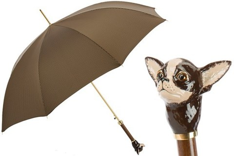 Зонт-трость Pasotti Umbrella with Chihuahua, Италия (арт.479 6390-4 K70mo)