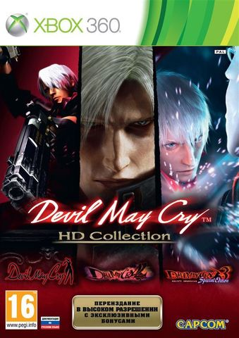 Xbox 360 Devil May Cry HD Collection (английская версия)