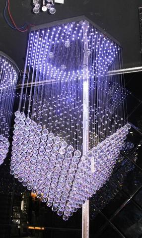 cristal  cascade chandelier  11-11  by Cristallino