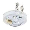 Кронштейн крепления светильника аварийного освещения эвакуационных проходов BOA COR, BOA-IN к люминесцентной лампе серии T5