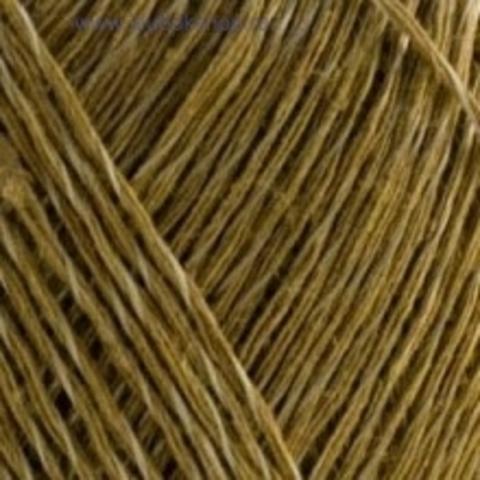 Пряжа Блестящий лен (Пехорка) Песочный 124