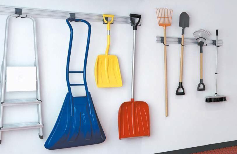 Крепления для садового и рабочего инвентаря