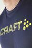 Футболка беговая Craft Prime Run Logo Navy мужская