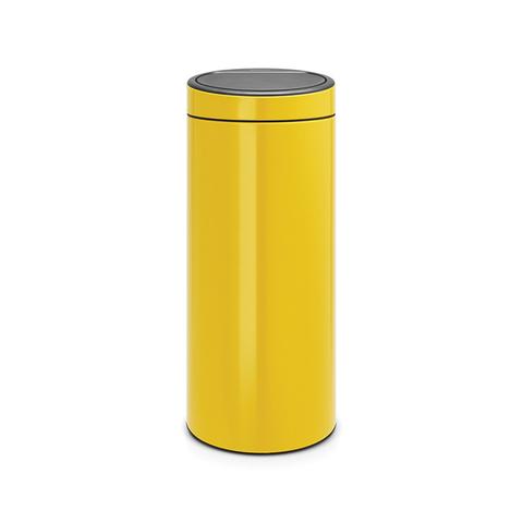 Мусорный бак Touch Bin New (30 л), Желтая маргаритка, арт. 115240 - фото 1