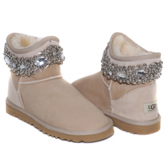 UGG & Jimmy Choo Crystal Sand